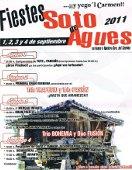 Cartel de las Fiestas de Soto de Agues en 2011